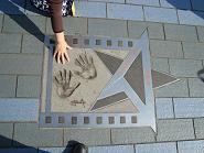 トニー・レオンの手形、アベニュー・オブ・スターズ