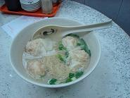 ワンタン麺、潮発粥麺